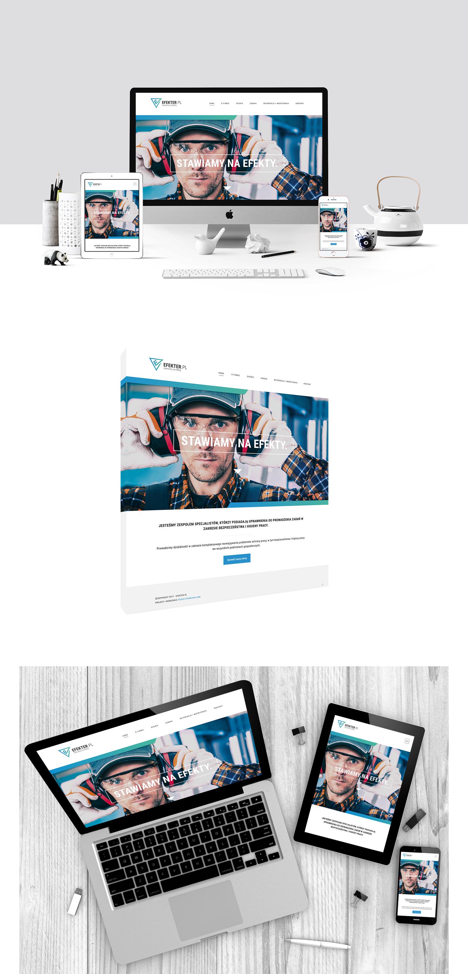 efekter prezentacja strony
