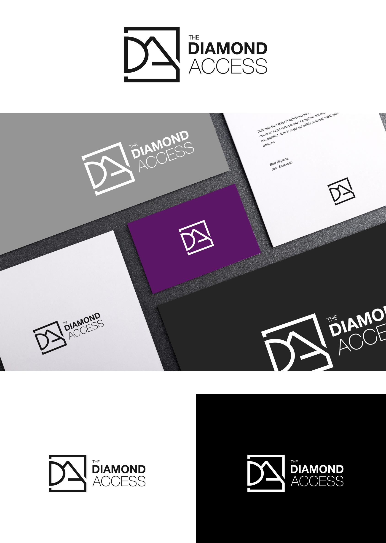 the diamond access prezentacja logo