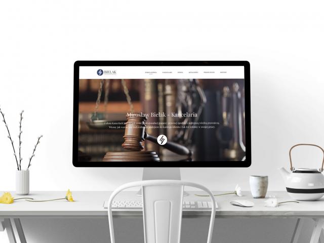 bielak prezentacja strony